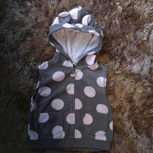 Carter's 18 month fleece vest